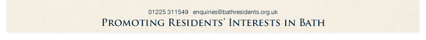 Promoting residents' interests in bath